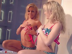 Babe Blonde Small Tits Squirt Teen