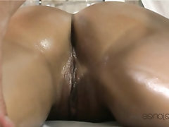 Ebony Feet Massage Teen