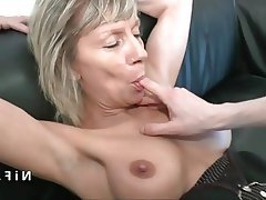 Amateur Anal Casting French Mature