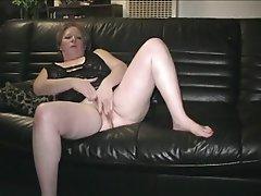 Granny Masturbation Mature Pussy
