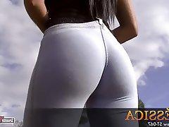 Big Butts Spanish Teen Brunette