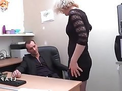 Amateur Anal French Mature Threesome