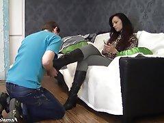 Femdom Foot Fetish High Heels Mistress BDSM