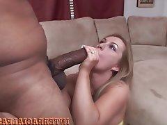 Anal Big Cock Blonde Interracial Black Cock