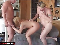 Anal Blonde Blowjob Double Penetration Hardcore