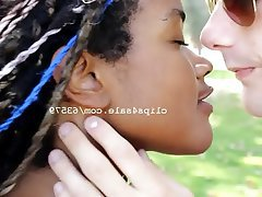 Amateur Interracial Kissing