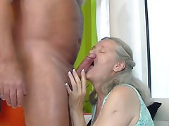 Granny Dildo Big Tits Granny