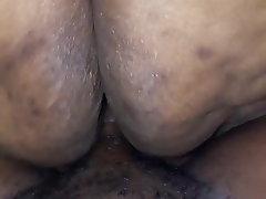 Amateur BBW Close Up Big Ass Black