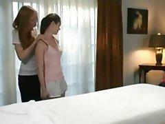 Babe Close Up Lesbian Massage
