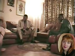 Amateur Blonde French Interracial Threesome