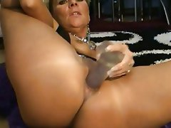 Blonde MILF Masturbation