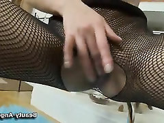 Babe Stockings Teen Toys Masturbation