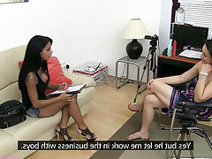 Babe Big Tits Casting Secretary Teen