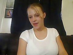 Amateur Big Boobs Brunette Webcam