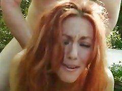 Blowjob Redhead Facial MILF