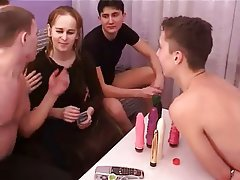 Gangbang Group Sex Old and Young Russian
