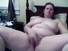 BBW Masturbation Webcam