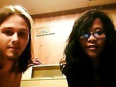 Amateur Interracial POV Webcam
