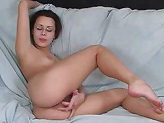 Amateur Brunette Masturbation Orgasm