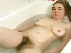 Big Boobs Hairy Redhead Shower