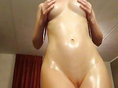 Big Boobs Blonde Massage Webcam