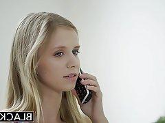 Blonde Blowjob Cumshot Interracial
