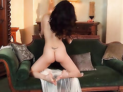 Babe Big Tits Feet Masturbation Stockings