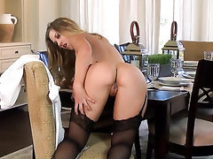 Babe Masturbation Panties Stockings